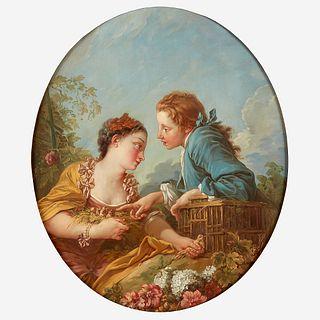 Studio of François Boucher (French, 1703–1770) Les Oiseaux Nicheurs (The Bird Nesters)