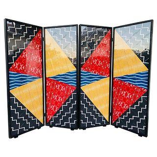 "Folding Screet Art by Arthur Drooker ""Photo-Quilts"""