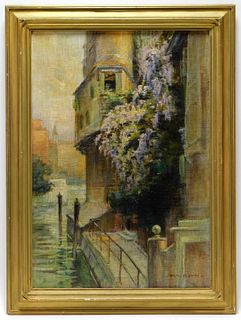 Walter Francis Brown Impressionist Painting