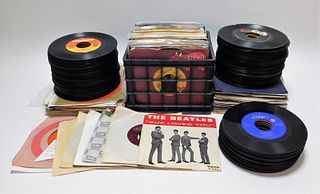 LG Collection of Assorted 45 Records
