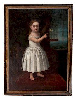 American School Portrait of a Girl