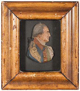George Washington Wax Portrait