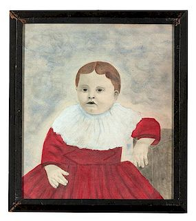 Naive Portrait of a Child
