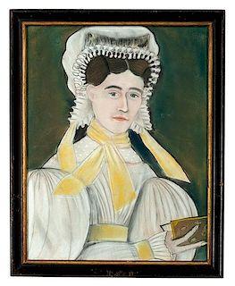 Folk Art Pastel Portraits