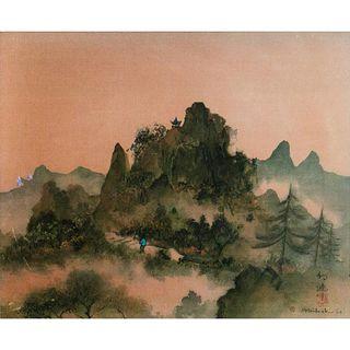 Waituck Lo (b. 1919-2019), Print From Original Painting