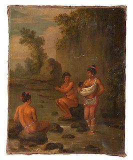 Native American Genre Scene