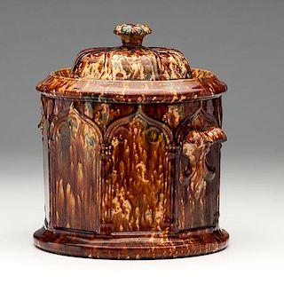 Gothic Flint Enamel Storage Jar