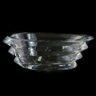 Baccarat French Clear Crystal Bowl