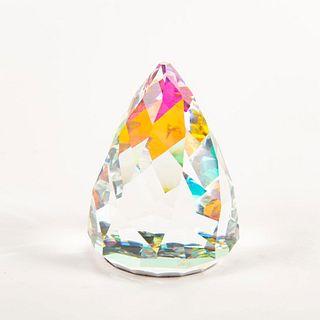Swarovski Crystal Rio Cone Paperweight