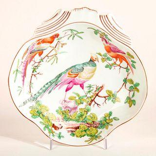 Williamsburg Mottahedeh Porcelain Plate, Birds