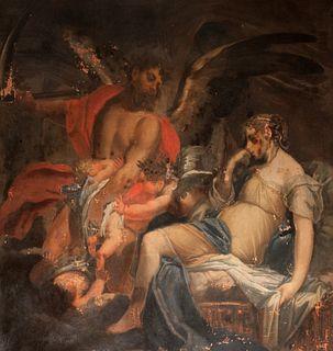 Scuola dell'Italia settentrionale, secolo XVII - Allegorical scene