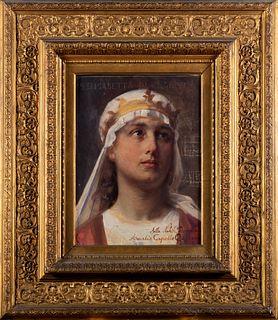 Paolo Gaidano (Poirino 1861-Torino 1916)  - Saint Elizabeth of Hungary