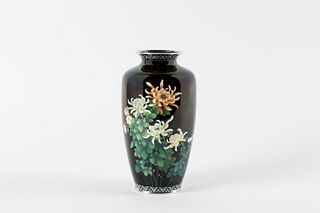 Cloisonné vase, Japan, early 20th century