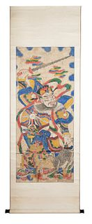 Two scroll, China 19th century