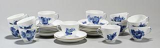 Group of Royal Copenhagen Blue Flower Porcelains