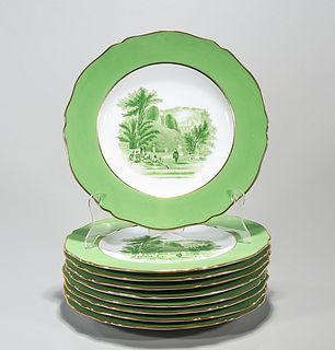 Group of Spode Copeland Luncheon Plates