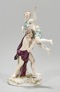 Antique Porcelain with Meissen Mark