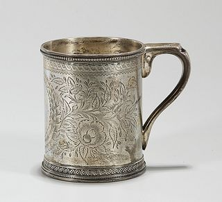 19th Century Tiffany & Co English Sterling Cup
