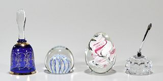 Group of Four Various Decorative Glass Items