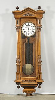 Vintage Case Hanging Clock