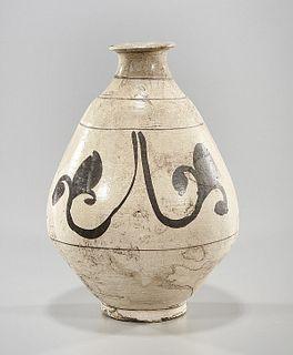 Korean Glazed Vase