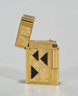 S.T. Dupont Afrika Limited Edition Onyx Inset Lighter