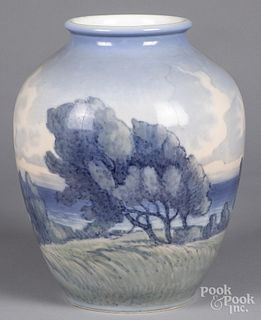 Large Royal Copenhagen porcelain vase
