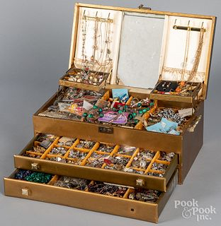 Extensive jewelry collection