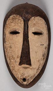 Democratic Republic of Congo painted Lega mask, 1