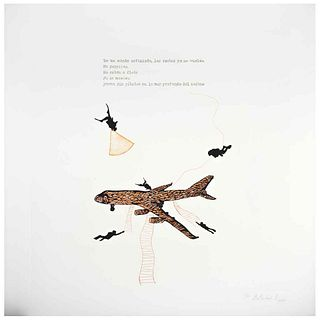 "BETSABÉ ROMERO, Untitled, Signed, Photogravure and aquatint P / T, 23.6 x 23.6"" (60 x 60 cm)"