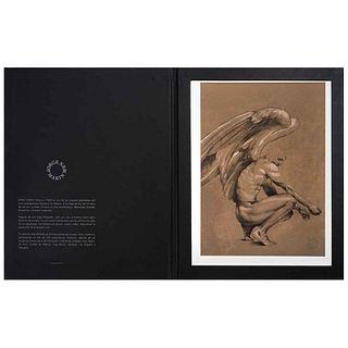 "JORGE MARÍN, Veintidós, 2017, Signed, Lithograph 74 / 100, 11.4 x 8.2"" (29 x 21 cm), Dry stamp of Jorge Marín"