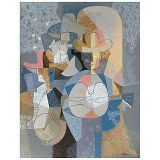 "ROMEO TABUENA, Untitled, Signed, Serigraphy 97 / 100, 27.5 x 21.2"" (70 x 54 cm)"