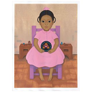"GUSTAVO MONTOYA, Untitled, from the series Niños Mexicanos, Signed, Serigraphy 65 / 250p, 23.6 x 17.3"" (60 x 44 cm)"