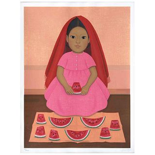 """GUSTAVO MONTOYA, Untitled, from the series Niños Mexicanos, Signed, Serigraphy 27 / 250p, 23.6 x 17.3"""" (60 x 44 cm)"""