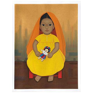 "GUSTAVO MONTOYA, Untitled, from the series Niños Mexicanos, Signed, Serigraphy 9 / 250 p, 23.6 x 17.3"" (60 x 44 cm)"