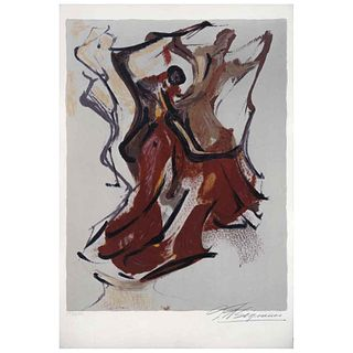 """DAVID ALFARO SIQUEIROS, Untitled, from the series Prision Fantasies, 1973, Signed, Lithograph 197 / 250, 18.5 x 13.9"""" (47 x 35.5 cm)"""