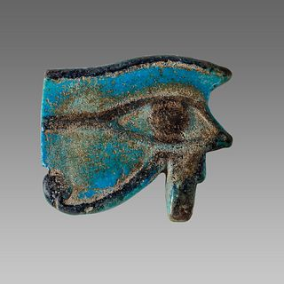 Ancient EGYPTIAN Large Eye Of Horus Late Period. 664-332 BCE.