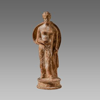 Ancient Greek Figural Lekythos Aphrodite c.4th century B.C.
