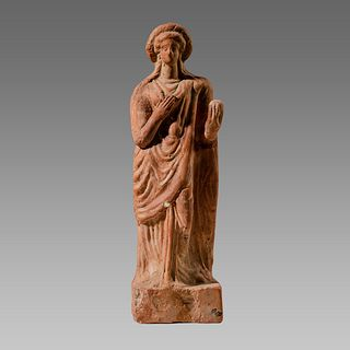 Ancient Greek Terracotta Figure Of Aphrodite c.4th century B.C.