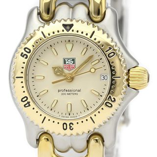 Tag Heuer Sel Quartz Stainless Steel,Gold Plated Women's Dress Watch WG1421