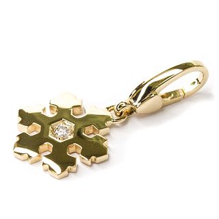 Bvlgari Snowflake Diamond Women's Pendant
