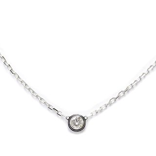 Cartier Diamants Legers De Cartier B7215900 White Gold (18K) Diamond Women's Pendant Necklace Carat/0.09