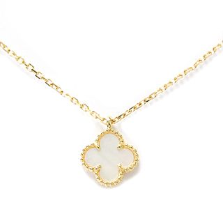 Van Cleef & Arpels Sweet Alhambra VCARF69100 Yellow Gold (18K) Women's Pendant Necklace
