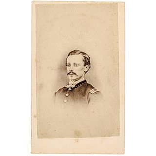 c 1864 Capt. Orren E. Smith 54th MASS Infantry CDV, First Black U.S. Army Unit