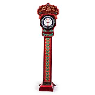 A National Novelty Co. Painted Cast Iron Nickel Scale