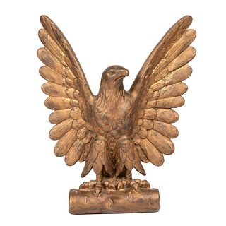 An American Cast Metal Eagle