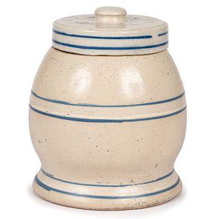 A White Hall Stoneware Sugar Bell