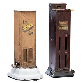 Two Penny Match Dispensers