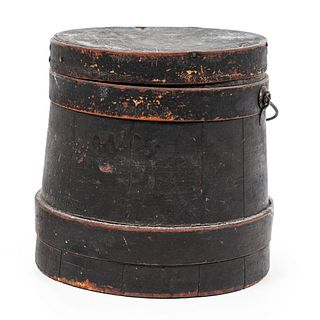 A Firkin in Old Black Paint