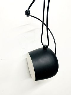 AIM - LED Pendant Light in Black by Flos made in Italy